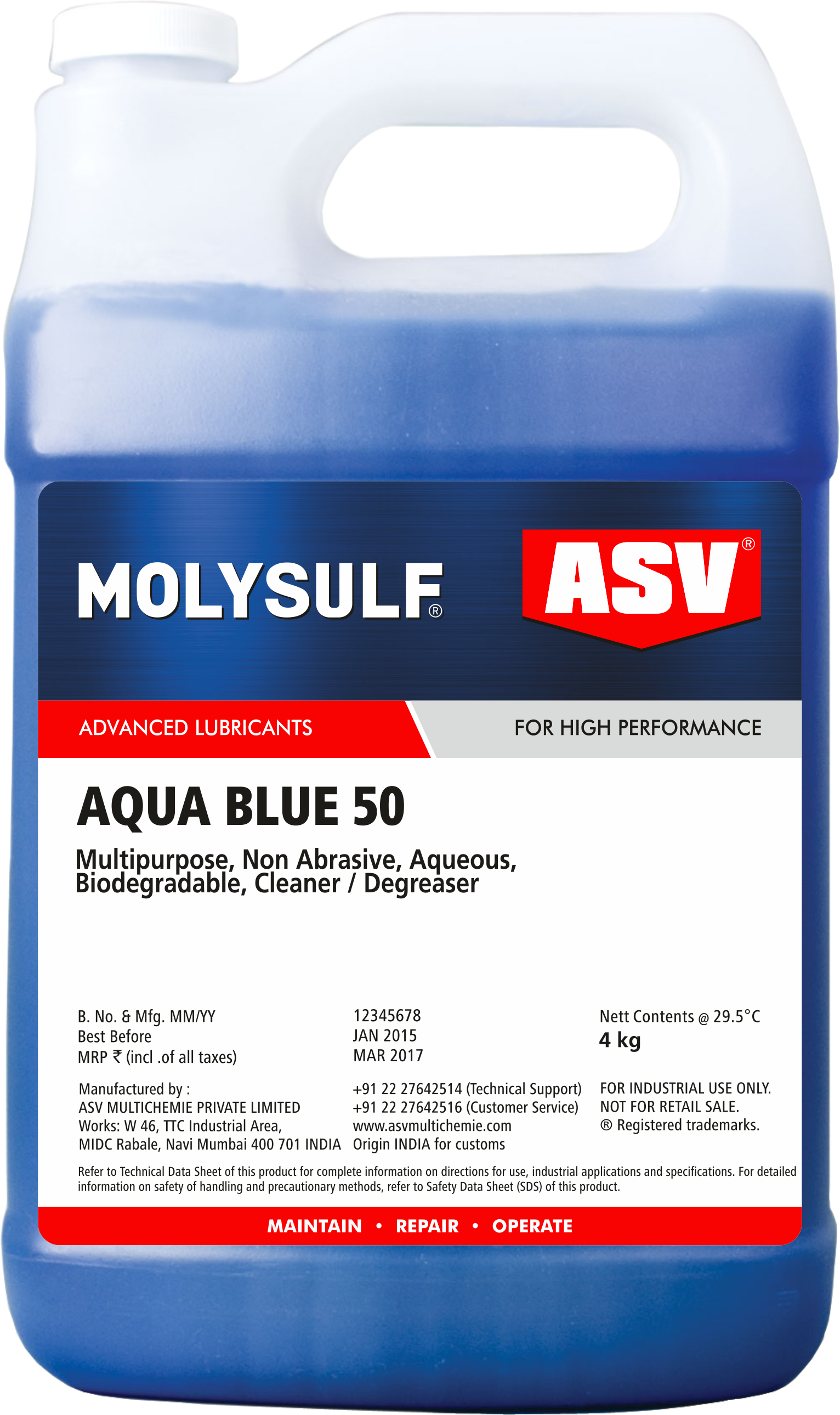 Aqua Blue 50