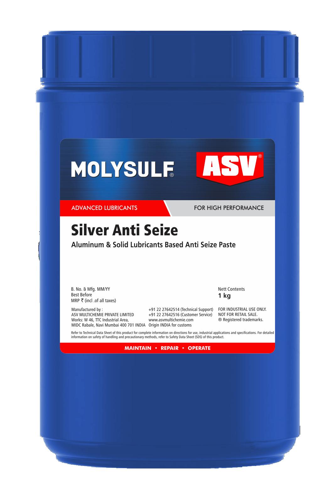 Silver Anti Seize